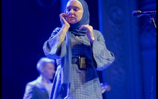 Sinead O'Connor at August Hall, by Patric Carver