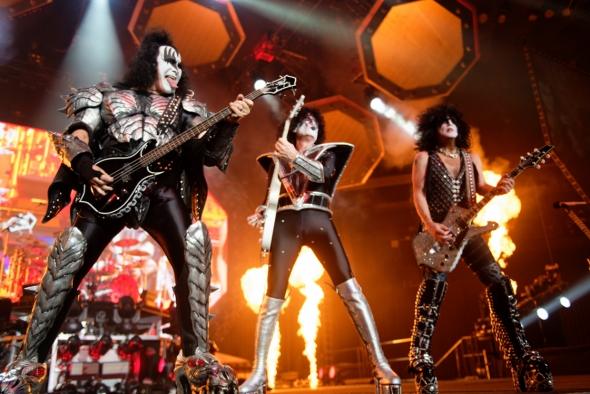KISS at Oracle Arena, by Jon Bauer