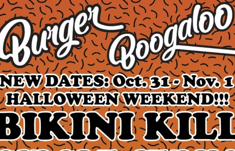 Burger Boogaloo rescheduled for Halloween!
