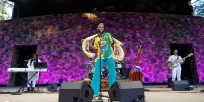 Fantastic Negrito at the Frost Amphitheater, by Jon Bauer