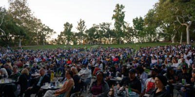 Marcus Shelby Quartet at the Frost Amphitheater, by Jon Bauer