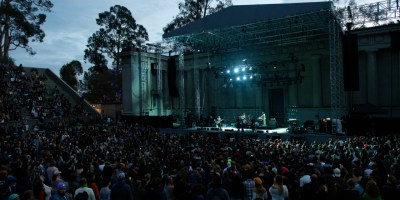 Local Natives at the Greek Theatre, by Jon Bauer