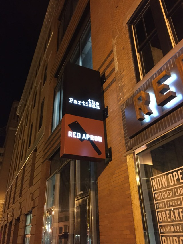 Special Restaurant Month: The Partisan