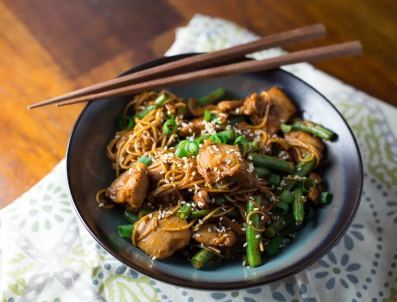 Spicy Korean Miso Chicken Stir fry