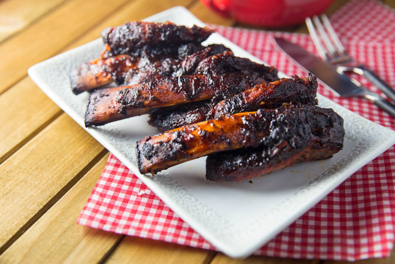 Big Green Egg Ancho Espresso Beef Ribs