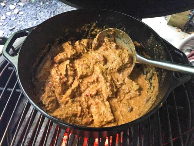 Big Green Egg Chicken Tikka Masala