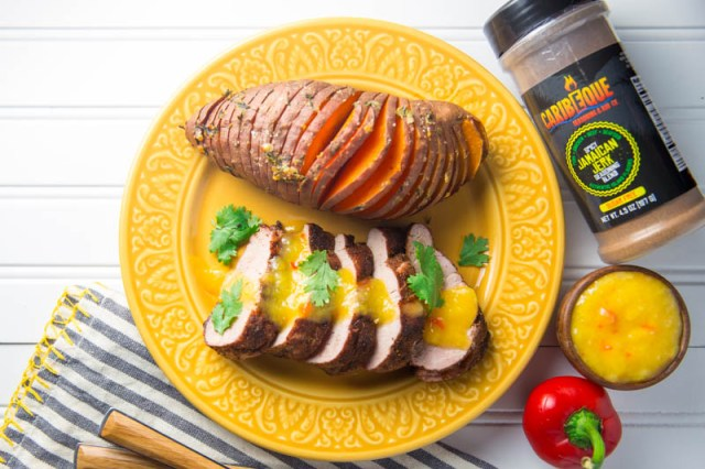 Caribeque Jamaican Jerk Pork Tenderloin