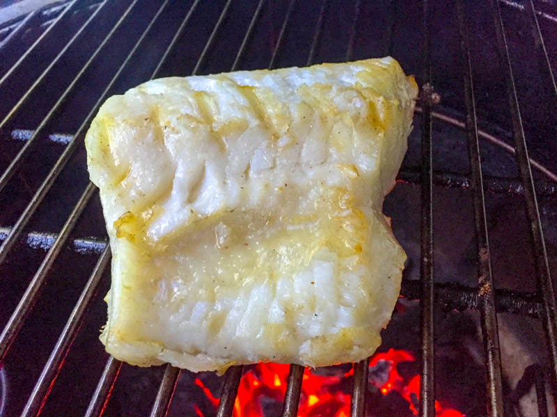 Big Green Egg Japanese Sea Bass