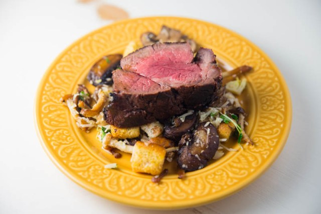 Red Wine and Miso Marinated Beef Tenderloin
