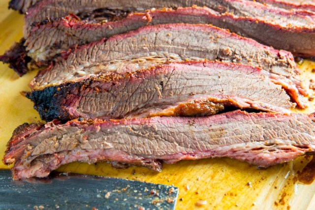 Big Green Egg Turbo Brisket