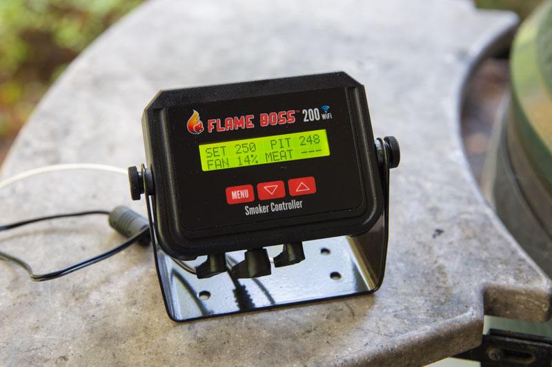 flame boss 200 wifi kamado smoker controller the bbq buddha