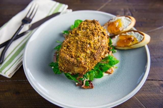 BGB Chopped Challenge Pistachio Crusted Pork Chop
