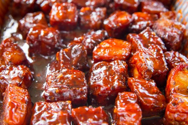 Crispy Asian Glazed Pork Belly