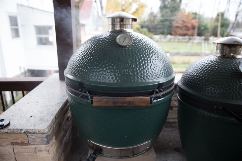 Big Green Egg Thanksgiving Turkey