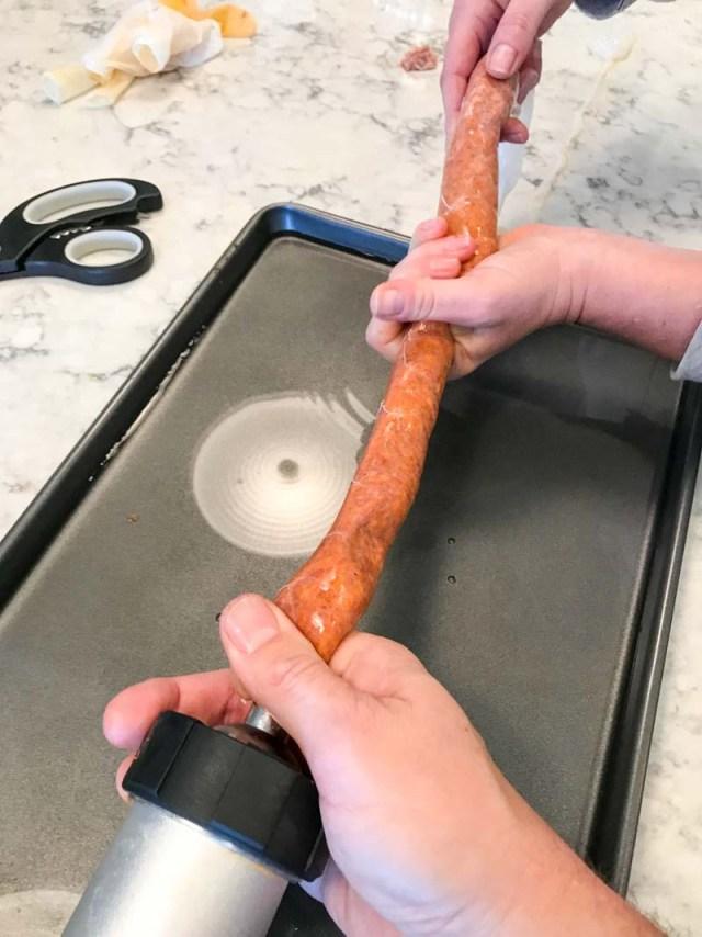 Homemade Smoked Chorizo Sausage