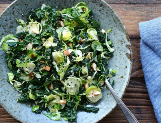 Kale and Brussels Sprouts Recipe on Brenda Della Casa's The BDC Collective