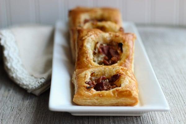 Savory Caramelized Onion Tarts