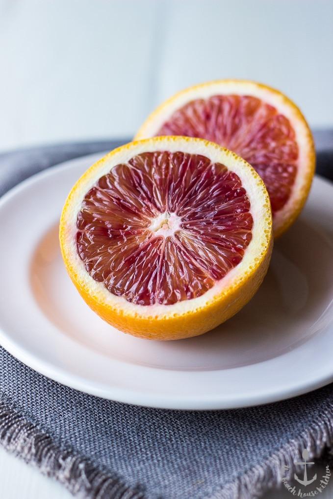 Glazed Blood Orange Loaf