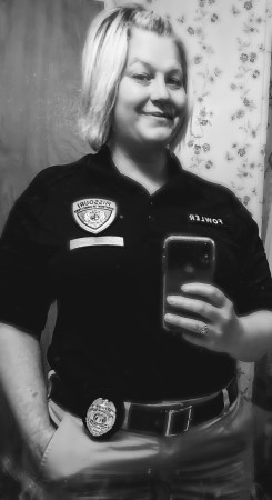A picture of Kerri Fowler when she worked for the Missouri Department of Corrections for 6 months in 2020.