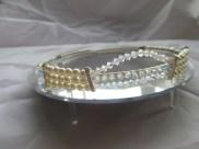 freshwater pearl and swarovski handmade tiara