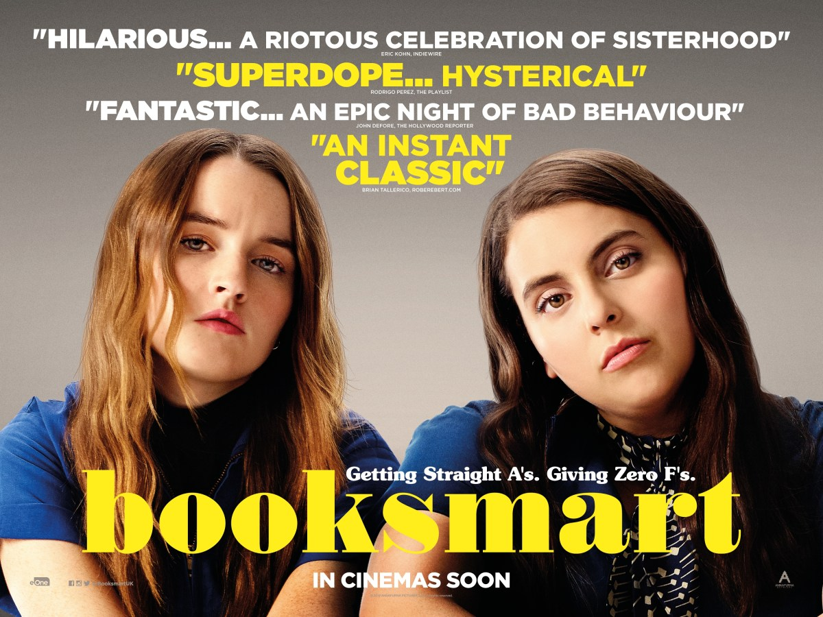 Booksmart Review – ★★★★★ – The Bear Cave