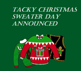 Image result for Tacky Sweater Day