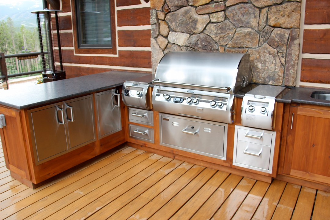 highland outdoor kitchen grill