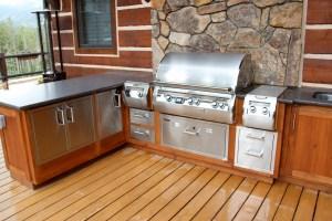 highland outdoor kitchen grill