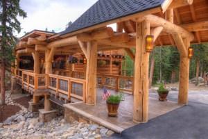 mountain home walkway