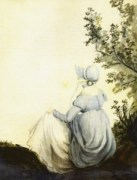 Jane Austen water colour by her sister