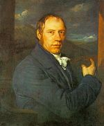 Painting of Richard Trevithick, the engineer, ...