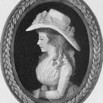 Miniature of Maria Edgeworth by Adam Buck c1790