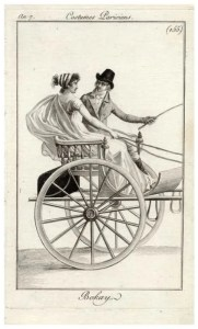 Couple in curricle Journal des Dames et des Modes, 1798