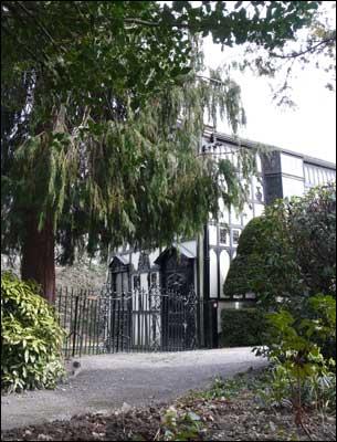 Plas Newydd house view
