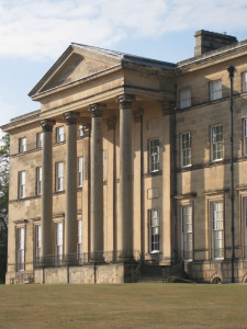 Front facade of Attingham House