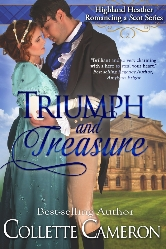 Cover for Triumph and Treasure by Collette Cameron
