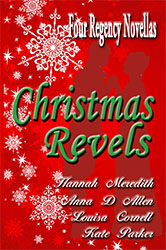 Cover for Christmas Revels: Four Regency Novellas by Louisa Cornell