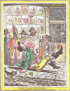 Gillray-very slippy weather