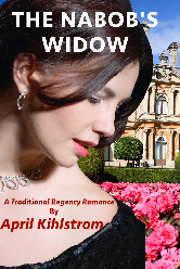 Cover image for April Kihlstrom's The Nabob's Widow