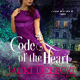 Cover image for Jacki Delecki's A Code of the Heart