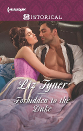 Cover image for Liz Tyner's Forbidden to the Duke