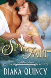 Cover image for SPY FALL by Diana Quincy