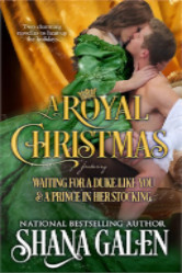 Cover image for A Royal Christma by Shana Galen