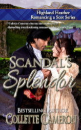 Cover image for Scandal's Splendor by Collette Cameron