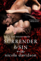 Cover image for Surrender to Sin by Nicola Davidson