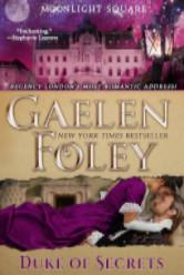 Cover image for Duke of Secrets by Gaelen Foley