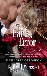 Cover image for The Earl's Error by Kathy L Wheeler