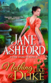 Cover image for Nothing Like a Duke by Jane Ashford