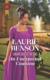 Cover image for An Unexpected Countess by Laurie Benson