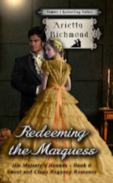 Cover image for Redeeming the Marquess by Arietta Richmond